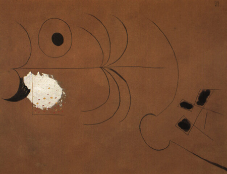 Le Placeur du music-hall by Joan Miro