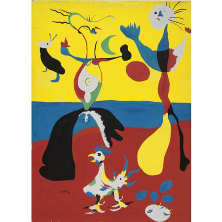 L'étoile by Joan Miro