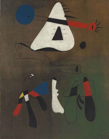 Peinture by Joan Miro