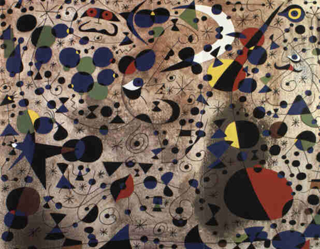 La poëtesse by Joan Miro