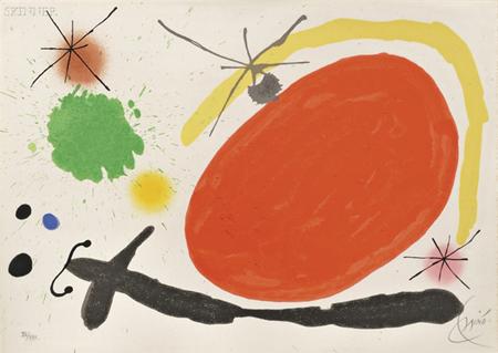 La Japonaise by Joan Miro