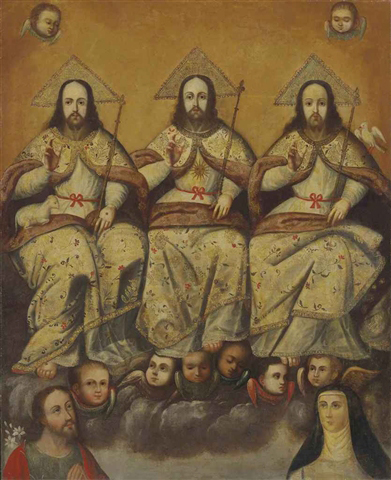 The Holy Trinity by Anonymous