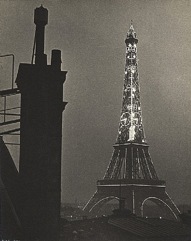 Eiffel Tower by Ilse Bing