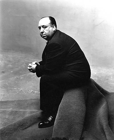 Portrait of Alfred Hitchcock by Irving Penn