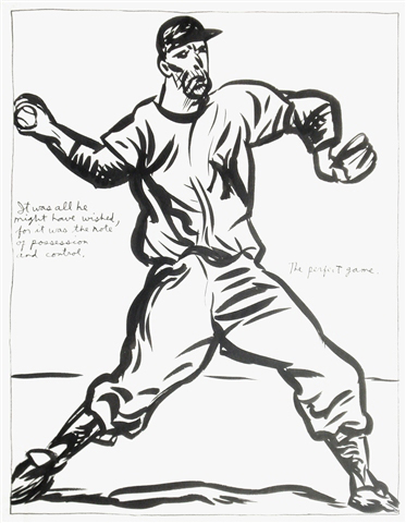 The Perfect Game by Raymond Pettibon