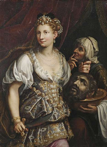 Judith mit dem Haupt des Holofernes by Workshop of Fede Galizia