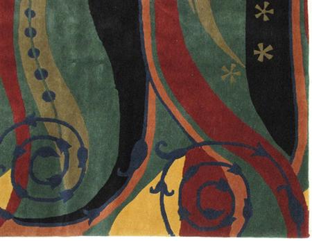 A Tibetan carpet
