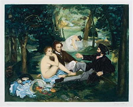 Dejeuner sur l'Herbe After Édouard Manet
