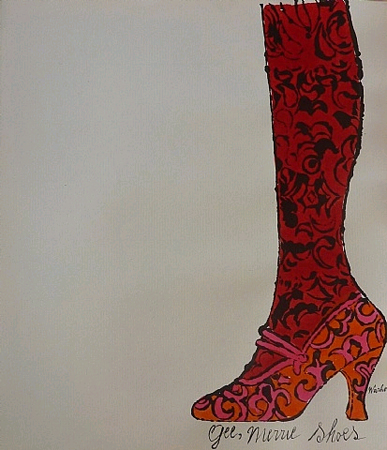 Gee Merrie Shoes by Andy Warhol