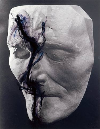 Arnulf Rainer, Death Mask Senefelder, 1978