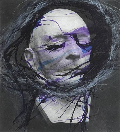 Arnulf Rainer, Death Mask Tassigny, 1978
