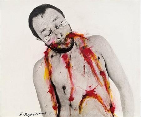 Arnulf Rainer, Sans titre, 1973