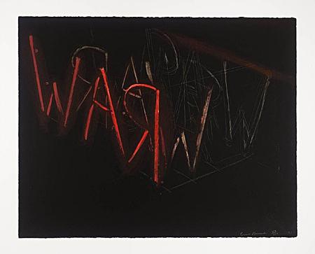 Raw War by Bruce Nauman