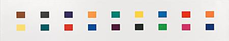18 Colors (Cincinnati) by Ellsworth Kelly