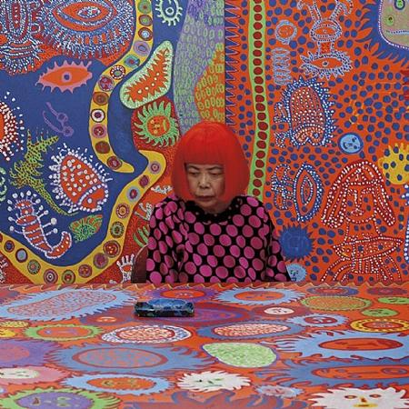 Guatier Deblonde, portrait of Yayoi Kusama in her Tokyo studio, 2013, David Zwirner Gallery, New York, NY