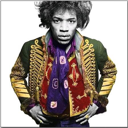 Jimi Hendrix, London by Gered Mankowoitz