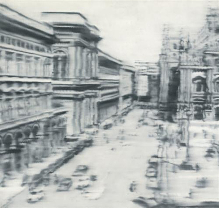 Domplatz, Mailand Cathedral Square, Milan by Gerhard Richter