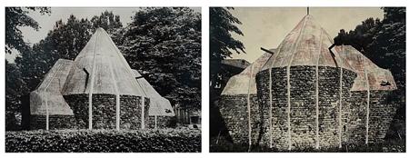 Sliced Brick Building by Gordon Matta Clark