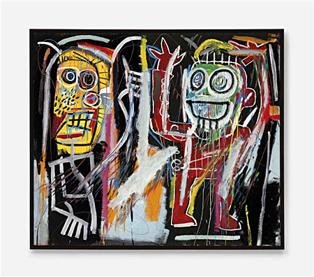 Dustheads by Jean-Michel Basquiat