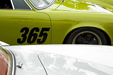 Porsches by Jory Hull