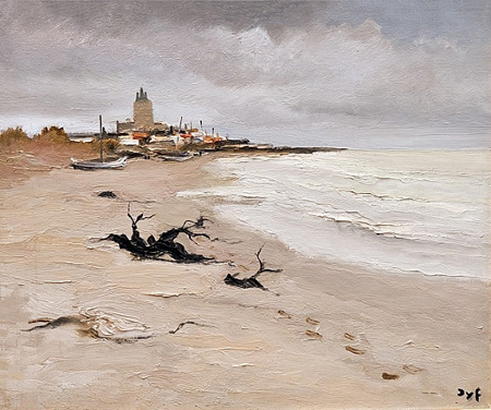 Les Sainte Maries De La Mar by Marcel Dyf