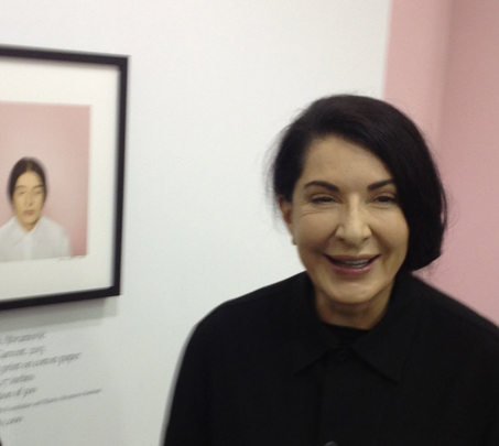 Artist Marina Abramovic at the UNTITLED Art Fair opening party at Art Basel Miami Beach, Miami, FL