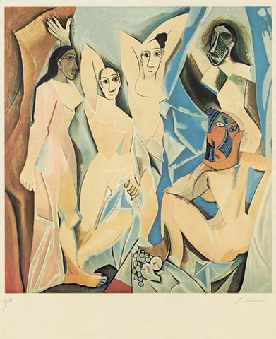 Demoiselles d'Avignon by Pablo Picasso