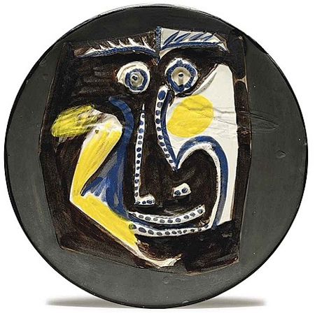 face by Pablo Picasso