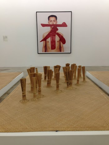installation view by Qiu Zhijie
