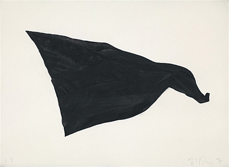 Black flag no. 7 by Robert Longo