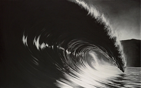 Untitled-Black Glass by Robert Longo