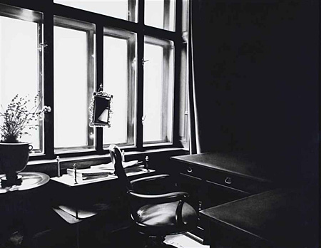 Untitled (Freud's desk by window by Robert Longo