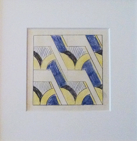 Study Drawing by Roy Lichtenstein