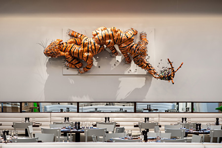 The Hive Restaurant, 21c Bentonville, courtesy of 21c Museum Hotels