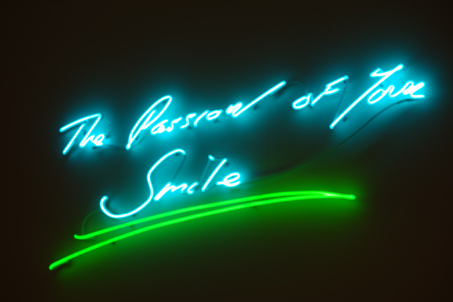 installation view by Tracey Emin