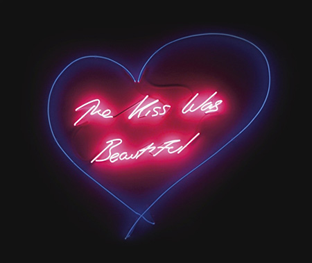 The Kiss was Beautiful by Tracey Emin