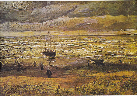 View of the Sea at Scheveningen by Vincent van Gogh