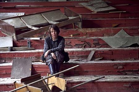 Diana Thater in Chernobyl by Volodymyr Palylyk