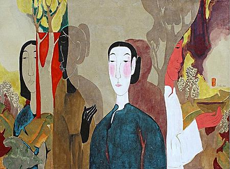 Softness of Scarlet by Vu Thu Hien
