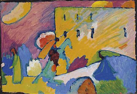 Studie zu Improvisation 3 by Wassily Kandinsky