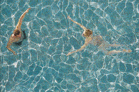 untitled, Swimming Pool by William Betts