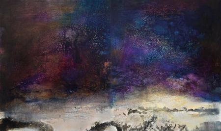 10.03.83 (diptych) by Zao Wou-Ki