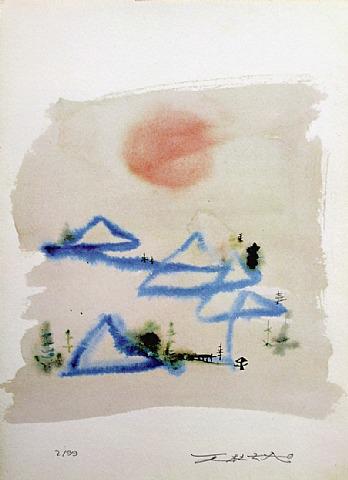 Les Carnets de Voyages I by Zao Wou-Ki