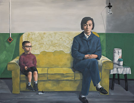 My Mother by Zhang Xiaogang