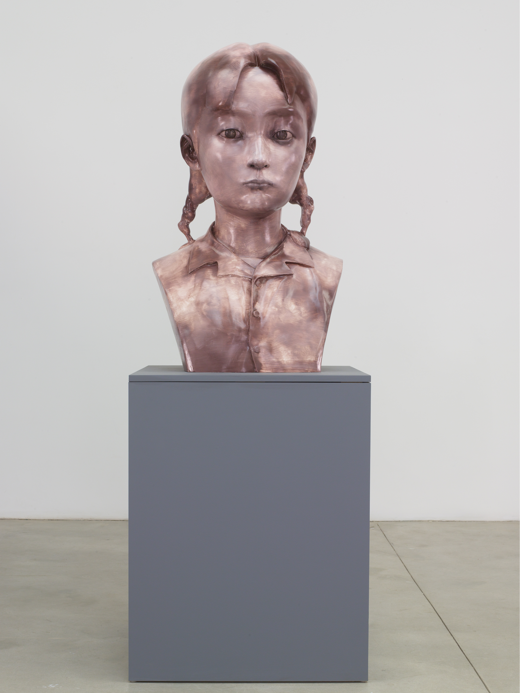 Young Girl No. 3 by Zhang Xiaogang