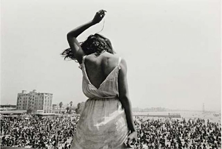 Venice Beach Rock Festival, California by Dennis Stock