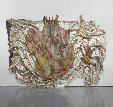 El Anatsui, They Finally Broke the Pot of Wisdom, 2011