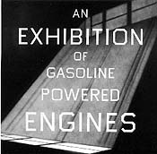 Ed Ruscha,An Exhibition of Gasoline Powered Engines, 1993