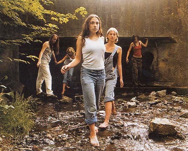 Justine Kurland: 'The Wall' (2000)