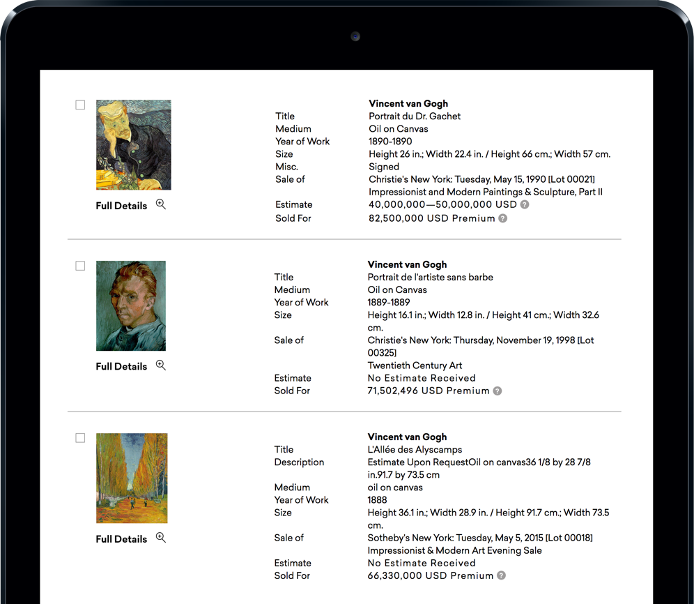 Artcyclopedia: Browse Artists Alphabetically by Name